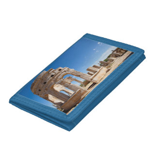The Market, Leptis Magna, Al Khums District Tri-fold Wallet