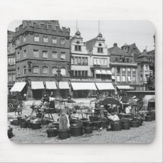 The Market Place at Trier, c.1910 Mouse Pad