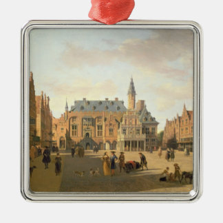 The Market Place with the Raadhuis Christmas Ornament