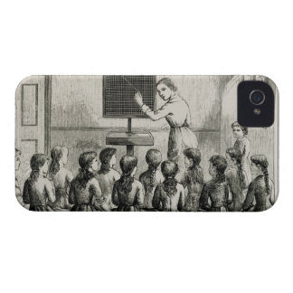 'The Marking Lesson', illustration from 'A Manual iPhone 4 Covers