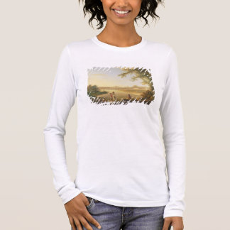 The Marmalong Bridge, with a Sepoy and Natives in Long Sleeve T-Shirt