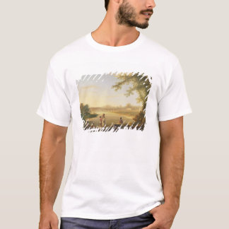 The Marmalong Bridge, with a Sepoy and Natives in T-Shirt