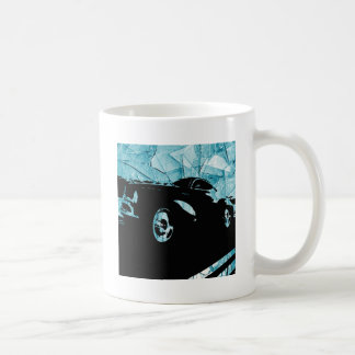 The Marqui 11 Classic Car Collection Basic White Mug