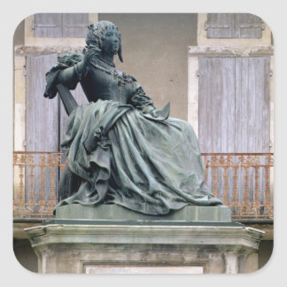 The Marquise de Sevigne (1626-1696) 1857-59 (bronz Square Sticker