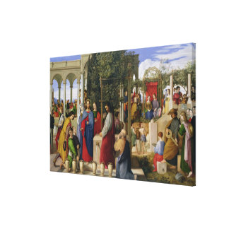 The Marriage at Cana, 1819 Canvas Print