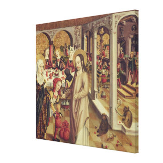 The Marriage at Cana, c.1500 Canvas Print