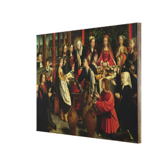 The Marriage Feast at Cana, c.1500-03 Canvas Print