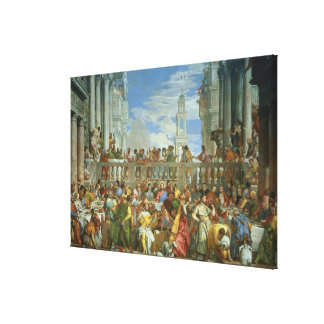 The Marriage Feast at Cana, c.1562 (oil on canvas) Gallery Wrap Canvas