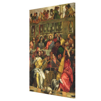 The Marriage Feast at Cana Canvas Print
