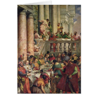 The Marriage Feast at Cana Card