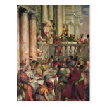 The Marriage Feast at Cana Post Cards