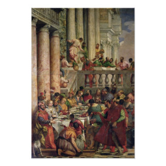 The Marriage Feast at Cana Posters