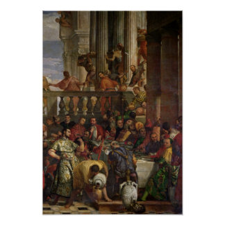 The Marriage Feast at Cana Print
