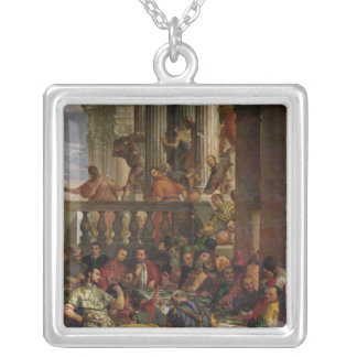 The Marriage Feast at Cana Silver Plated Necklace