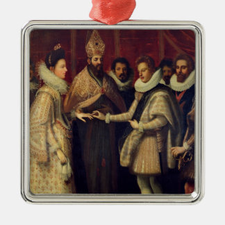The Marriage of Catherine de Medici Christmas Ornament