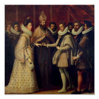 The Marriage of Catherine de Medici Poster
