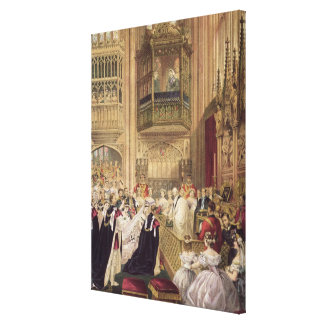 The Marriage of Edward VII Canvas Print