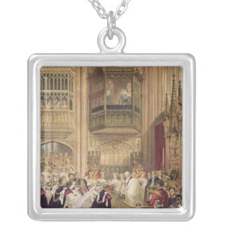 The Marriage of Edward VII Silver Plated Necklace