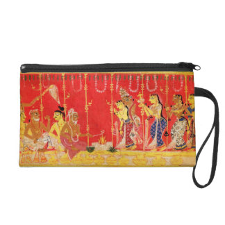 The Marriage of Krishna's Parents, from a disperse Wristlet Clutches