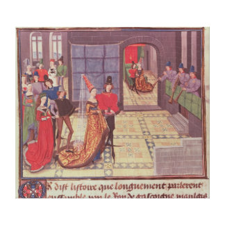 The Marriage of Renaud de Montauban and Canvas Print
