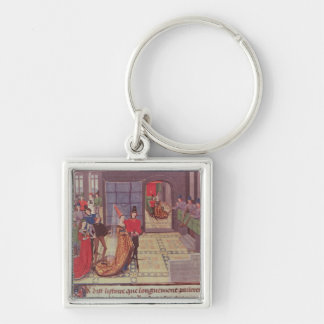The Marriage of Renaud de Montauban and Key Ring