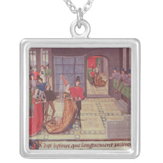 The Marriage of Renaud de Montauban and Silver Plated Necklace