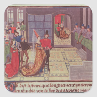 The Marriage of Renaud de Montauban and Square Sticker