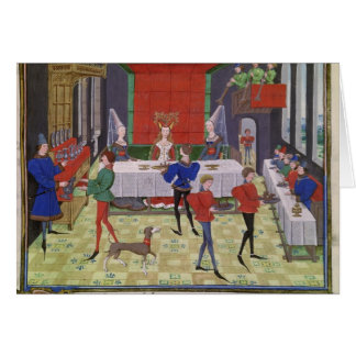 The Marriage of Renaud of Montauban and Clarisse Card