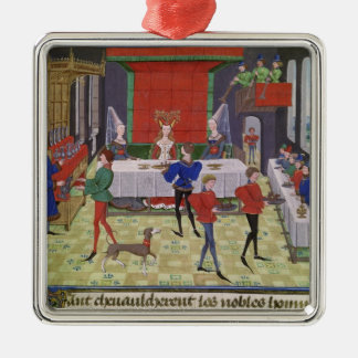 The Marriage of Renaud of Montauban and Clarisse Christmas Ornament