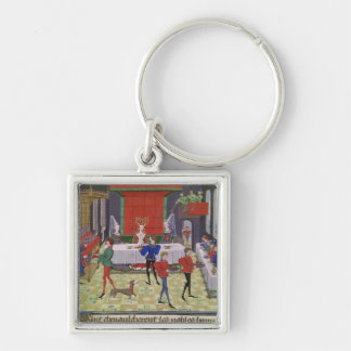 The Marriage of Renaud of Montauban and Clarisse Key Ring