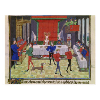 The Marriage of Renaud of Montauban and Clarisse Postcard