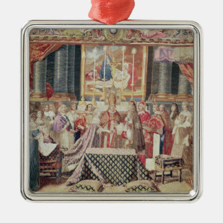 The Marriage of the King Christmas Ornament