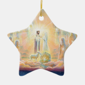 The Marriage of the Lamb Christmas Ornament