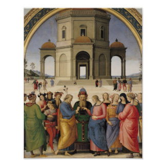 The Marriage of the Virgin, 1500-04 Poster