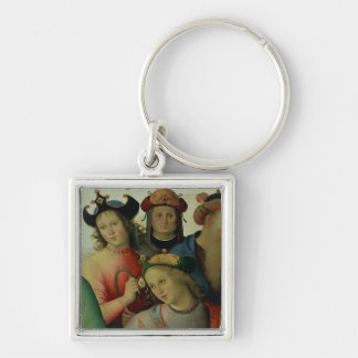The Marriage of the Virgin, detail of the suitors, Key Ring