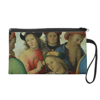 The Marriage of the Virgin, detail of the suitors, Wristlet Clutches