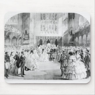 The Marriage of Victoria Mouse Mat