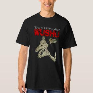 The Martial Art Wushu Grunge T Shirts