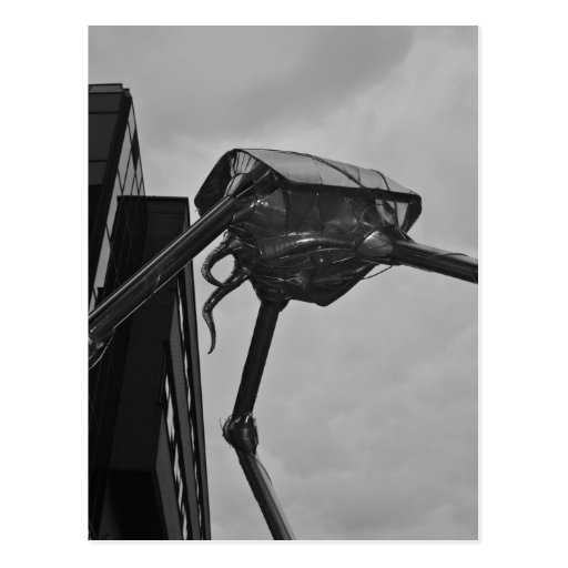 The Martian Sculpture Postcard