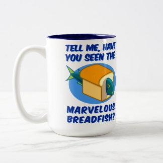 The Marvelous Breadfish Two-Tone Mug