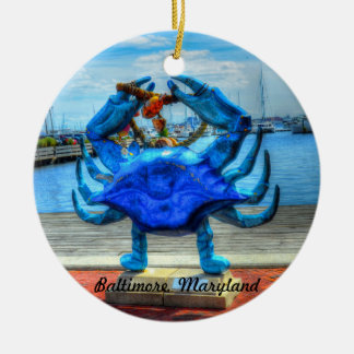 The Maryland Blue Crab Ornament