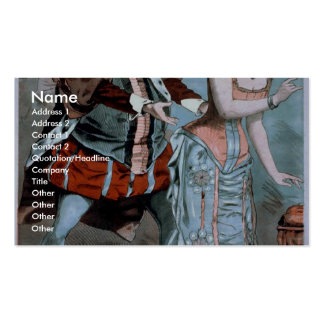 The Mascot Vintage Theater Pack Of Standard Business Cards
