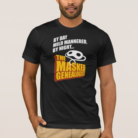 The Masked Genealogist T-Shirt