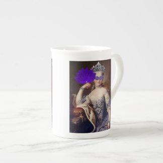 The Masked Queen Bone China Mug Tea Cup