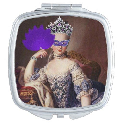The Masked Queen Compact Mirror Vanity Mirror