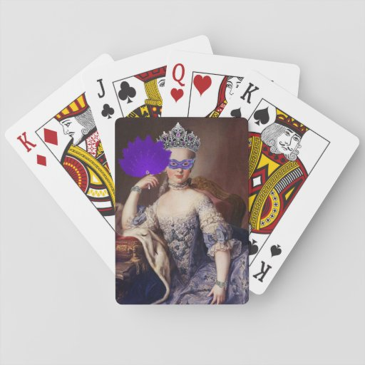 The Masked Queen Playing Cards Poker Deck