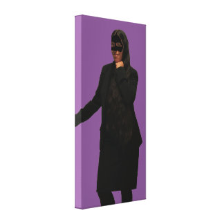 The Masked Woman Canvas Print