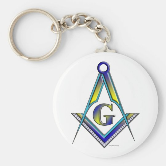 The Mason Basic Round Button Key Ring