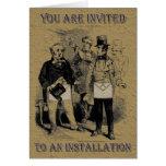 The Masonic Installation Invitation Greeting Cards