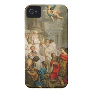 The Mass of St. Basil (oil on canvas) iPhone 4 Cover